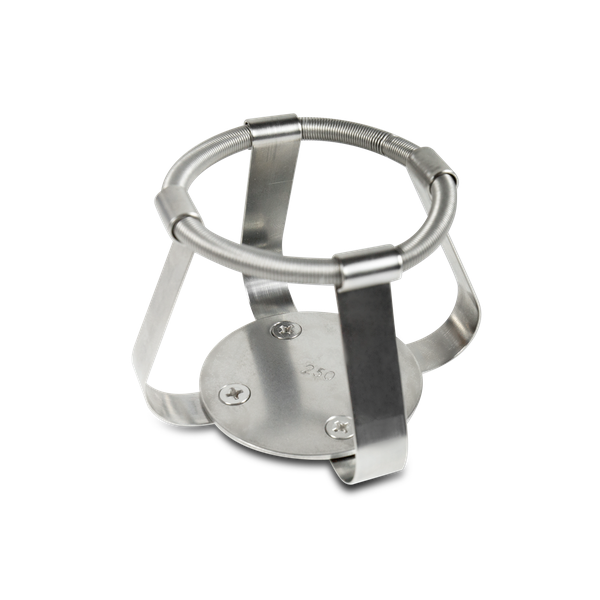 FC-250, Clamp stainless steel for flask 250 ml