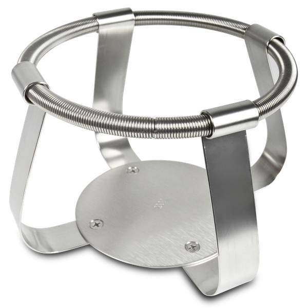 FC-2000, Clamp stainless steel for flask 2000 ml