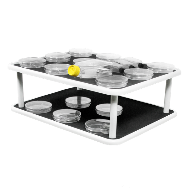 PP-20/2, 2-level flat platform with rubber pad