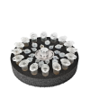 SV-16/8, Platform with 16/8/8 sockets for 1.5/0.5/0.2 ml microtest tubes